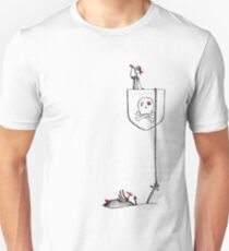 Pocket Pirate - Dropping Anchor Unisex T-Shirt