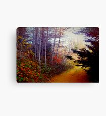Once Upon a Fall Canvas Print