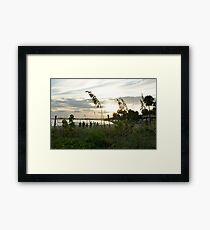 Beach Sport Framed Print
