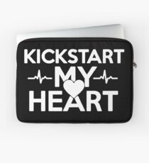 Kickstart My Heart Laptop Sleeve
