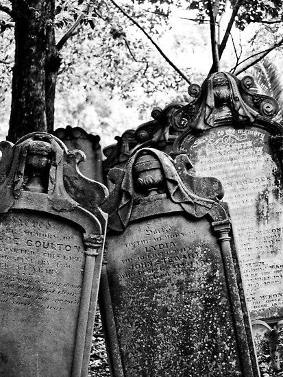 Leaning Graves by Jason Dymock Photography
