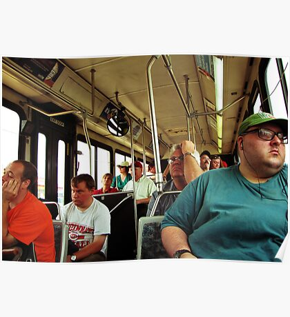 A Day On The Bus Poster
