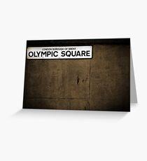 Olympics Greeting Card