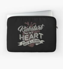 Kickstart My Heart Cruehead Laptop Sleeve