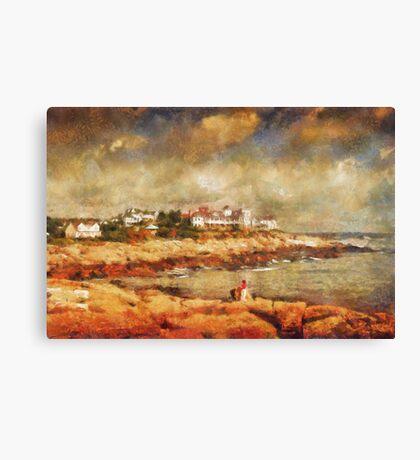 Cape Neddick Canvas Print
