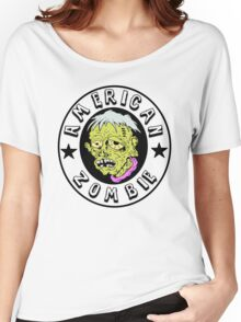 American Zombie Circle Face Part 2 Women's Relaxed Fit T-Shirt