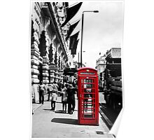 London Phonebox Poster