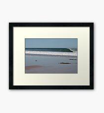 Secret Surf Location Framed Print