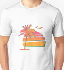 80's Sunset Unisex T-Shirt