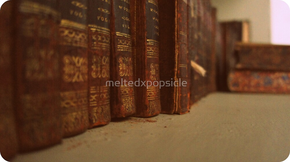 Old Books by Jessica Liatys