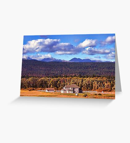 Snoqualmie Pass Greeting Card