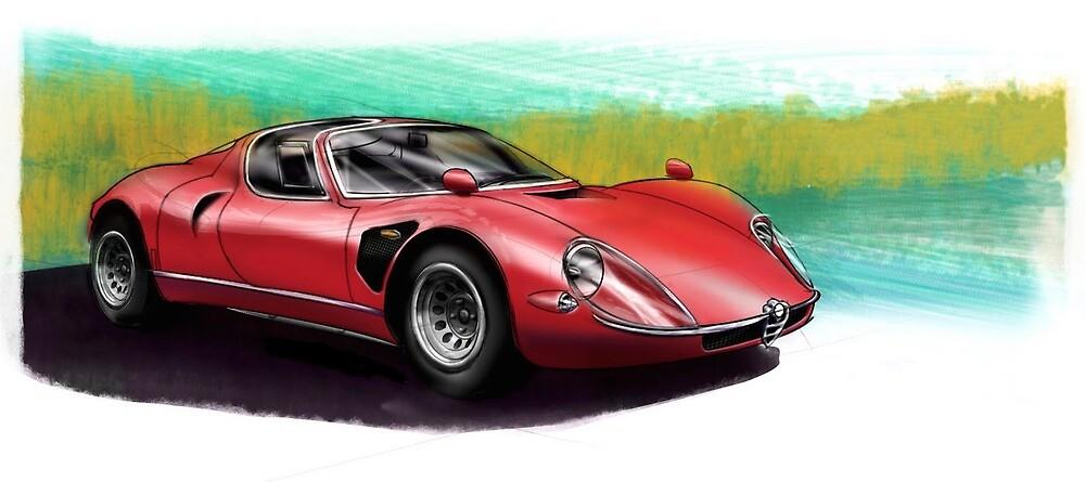 Alfa Romeo 33 Stradale by Duen-deH