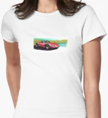 Alfa Romeo 33 Stradale Women's Fitted T-Shirt