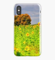 Rigby Idaho - Dreaming Of Sunflowers iPhone Case