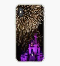 Vinilo o funda para iPhone Magic Kingdom Fireworks