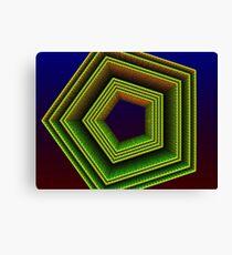 Polygon 3d Canvas Print