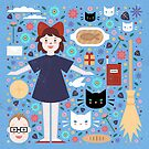 Kiki's Delivery Service by CarlyWatts