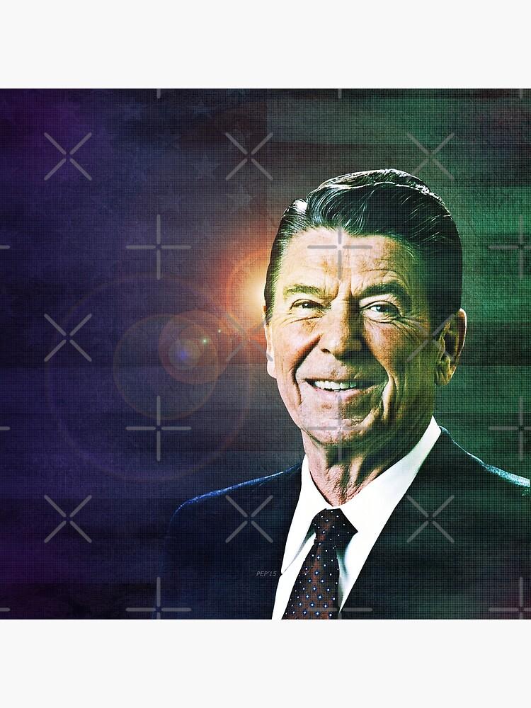 Patriot Ronald Reagan by morningdance
