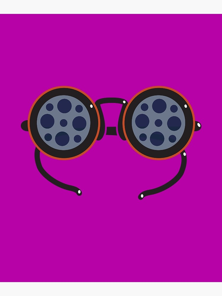 Film Reel Glasses by a-roderick