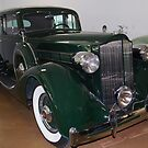 Vintage Packard by Marjorie Wallace