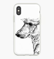 Poodle Drawing iPhone Case