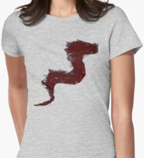 Dragon Sketch Women's Fitted T-Shirt
