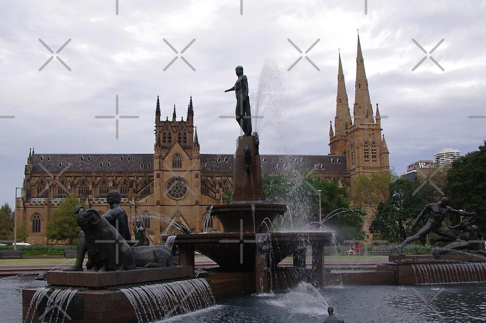St Marys' Church, Sydney, Australia by Liz Worth
