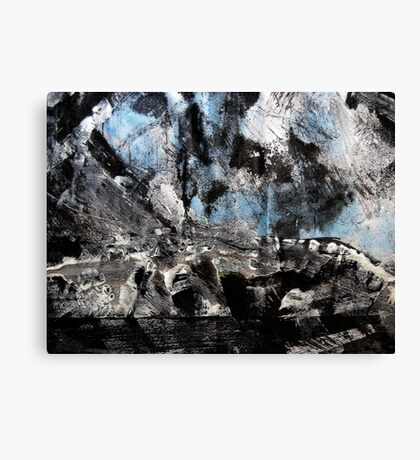 storm brewing.... out over the cape Canvas Print
