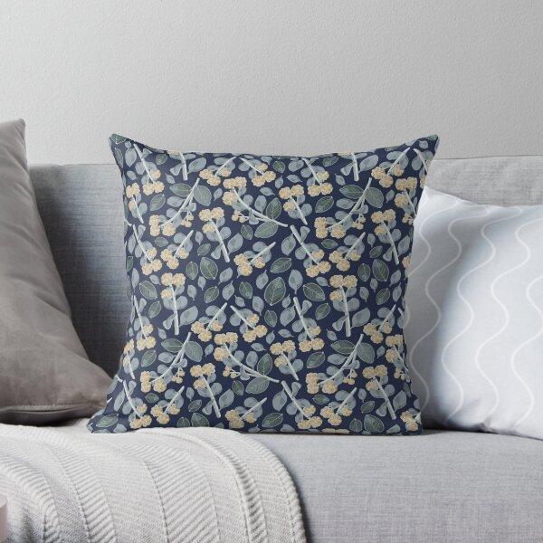 Vintage Wattle Pattern Throw Pillow