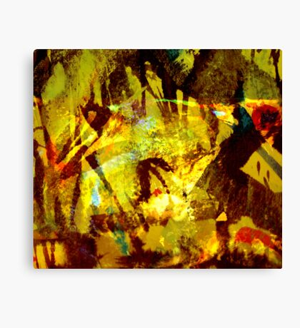 down to earth.... forest creatures Canvas Print
