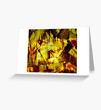 down to earth.... forest creatures Greeting Card