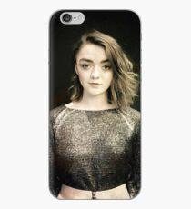 Maisie Williams Black iPhone Case