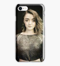 Maisie Williams Black iPhone Case/Skin