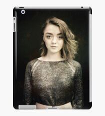 Maisie Williams Black iPad Case/Skin