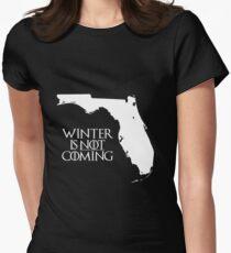 Camiseta entallada para mujer El invierno NO viene
