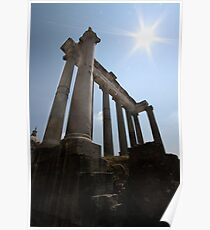 Temple of Saturn  Poster
