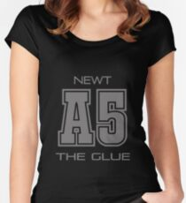 Subject A5 - The Glue Women's Fitted Scoop T-Shirt