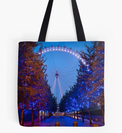 The London Eye - Dawn Light. Tote Bag