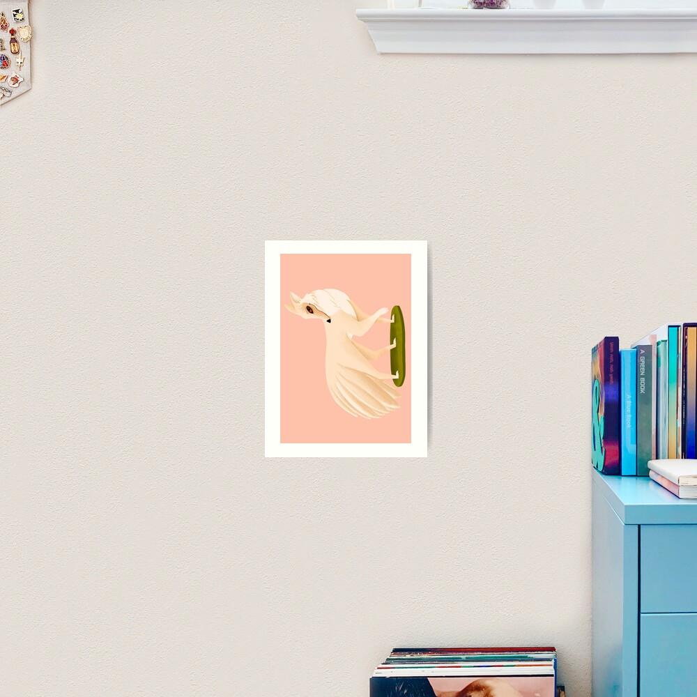 Impression artistique «Kitsune»