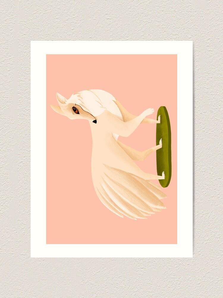 Impression artistique ''Kitsune': autre vue
