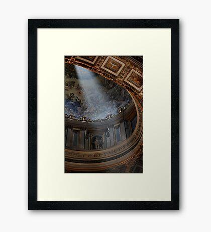 The Light in St Peter's Framed Print