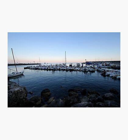Boats in Amalfi Photographic Print