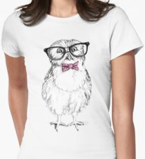 Nerdy Owlet Women's Fitted T-Shirt