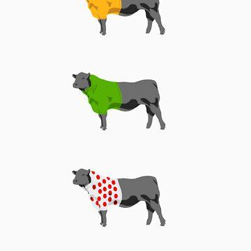 Les Vaches du Tour - dark by LesVaches
