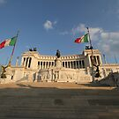 The Monumento Nazionale a Vittorio Emanuele II  by Samantha Higgs
