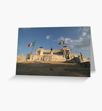 The Monumento Nazionale a Vittorio Emanuele II  Greeting Card