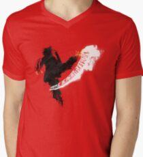 Get Bent :: Fire Men's V-Neck T-Shirt