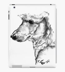 Poodle Drawing iPad Case/Skin