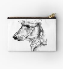 Poodle Drawing Studio Pouch