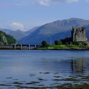 Eilean Donan Castle by goldyart